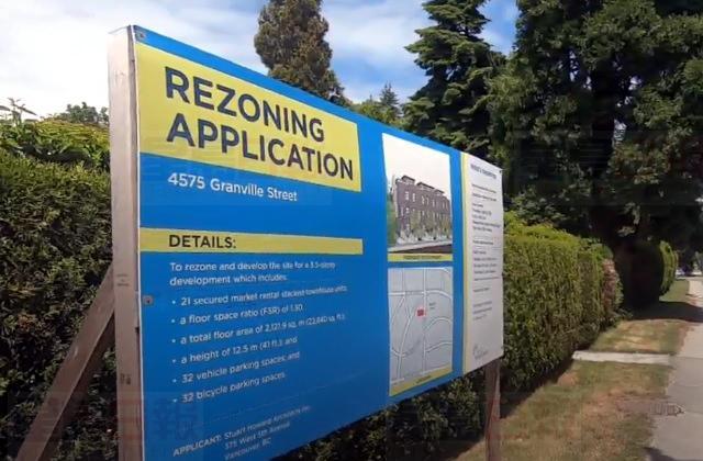 温市议会上周投票拒绝桑尼斯区一个城市屋发展项目的更改土地用途申请。Global News
