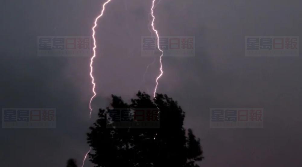 环境部向省东南部地区,发出强雷暴预警。Flickr图片