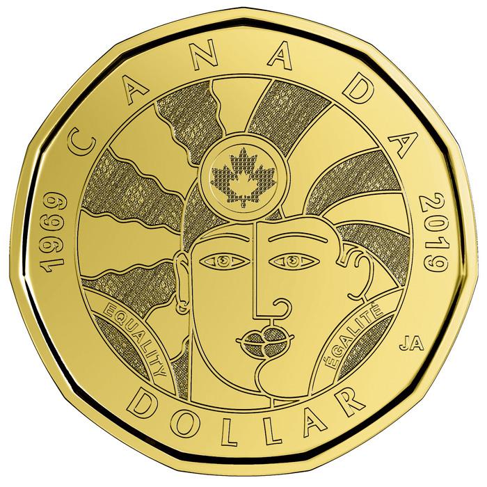 紀念同性戀權利50年的一元硬幣(圖)