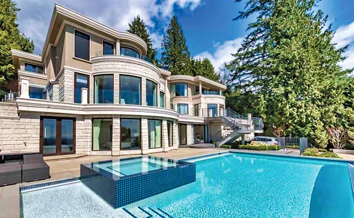 ■这间在2015年用差不多1,200万元购入的西温豪宅,最近以550万元成交。MLS网上图片
