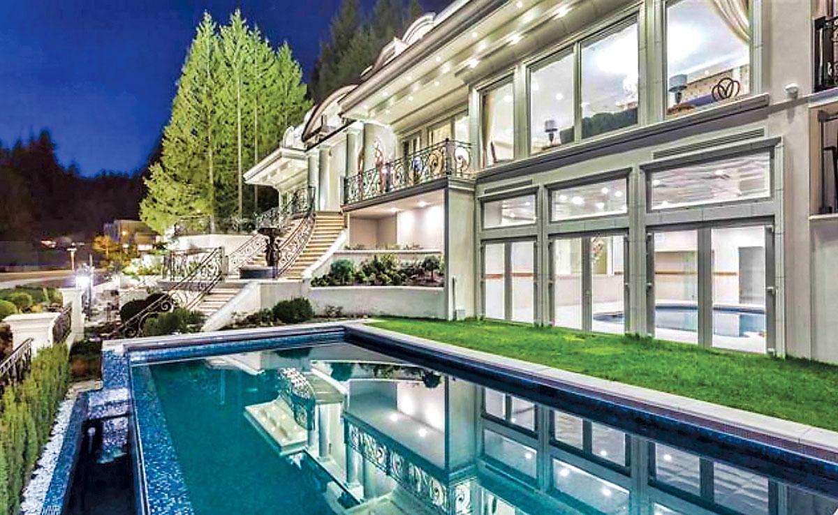 ■此间西温豪宅在2016年开价1,680万元,最近以800万元售出。MLS网上图片