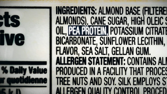 ■部分食品包裝的標籤上列出豆蛋白成份,但豆蛋白在加拿大目前並未列為致敏源。CBC