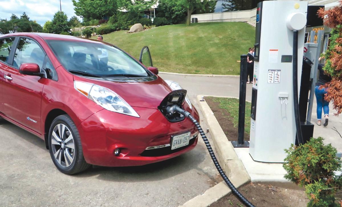 ■省府推出新的电能车奖励计划,车主所得的回赠金额将会减少。星报