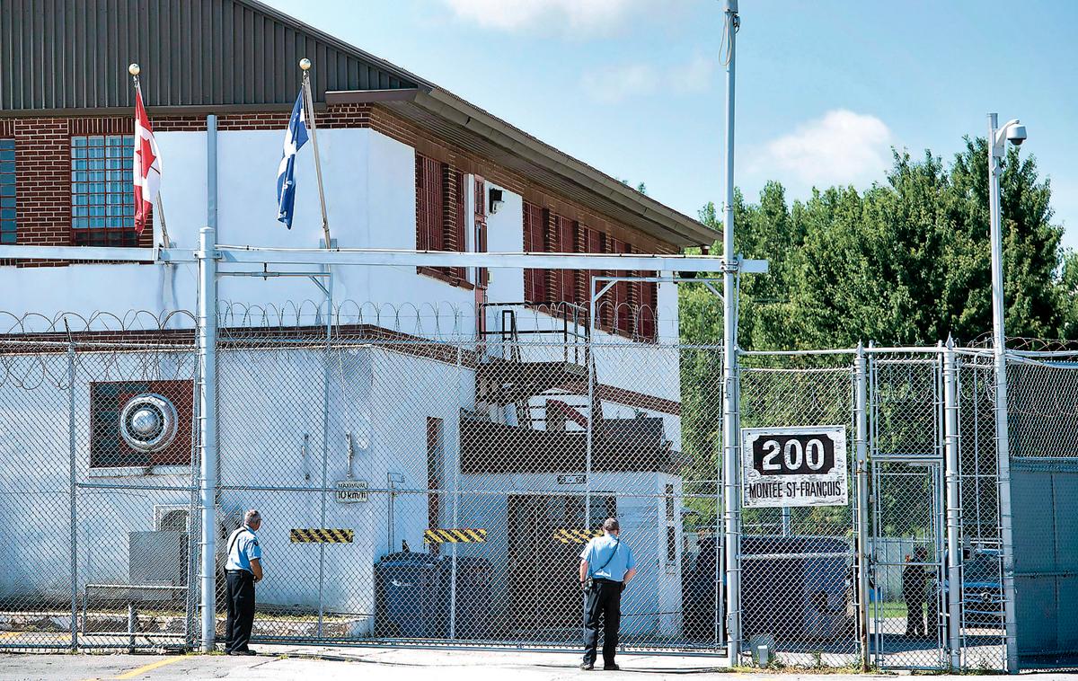 ■加拿大移民羁押中心,在2017至2018年度,扣押达6000多人。 加通社资料图片
