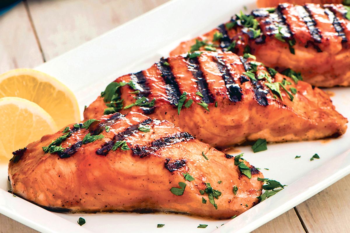 ■美味又健康的三文鱼。