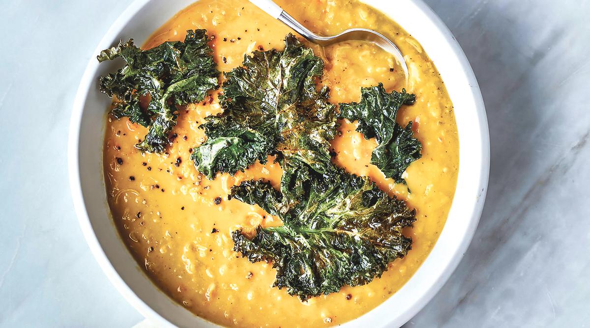 ■扁豆汤非常美味。