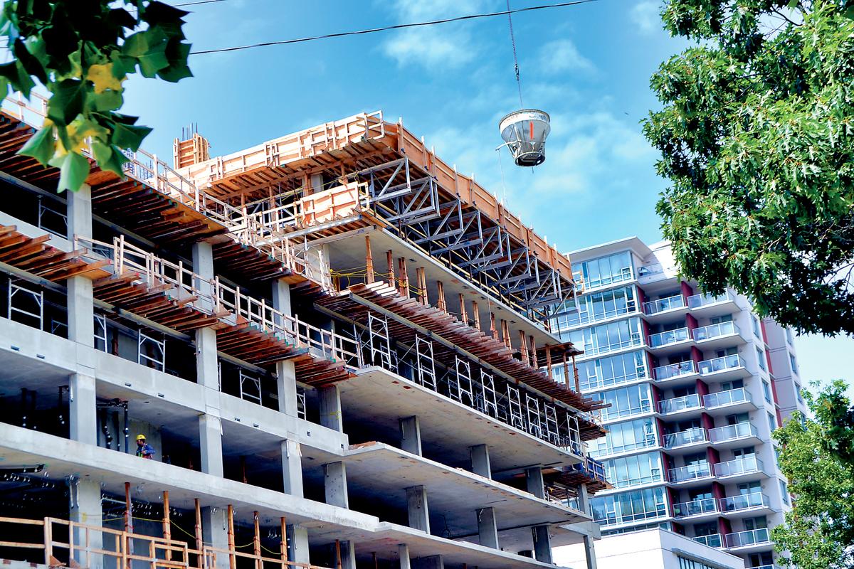 ■列市柏文项目ALFA的发展商Anderson Square,去年被总承建商入禀法院索偿。资料图片
