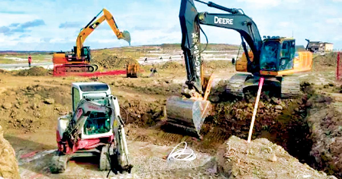 ■阿波斯福警方在搜查行动中,搜出包括钻挖机等失物。图片与本案无关。Global News
