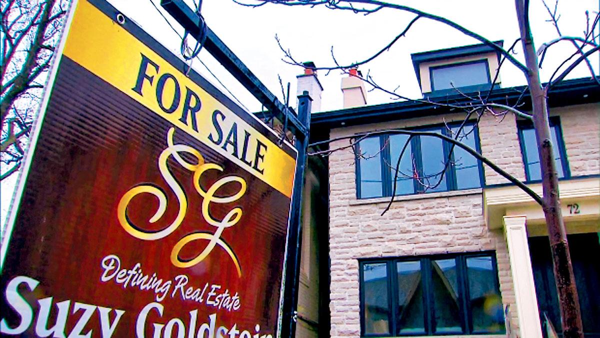 ■多伦多与满地可的豪华房地产销售增长,但在温哥华则出现下降。加通社
