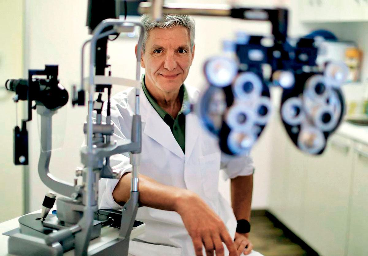 ■埃尔德弗瑞表示,安省眼科医生数量严重不足。星报