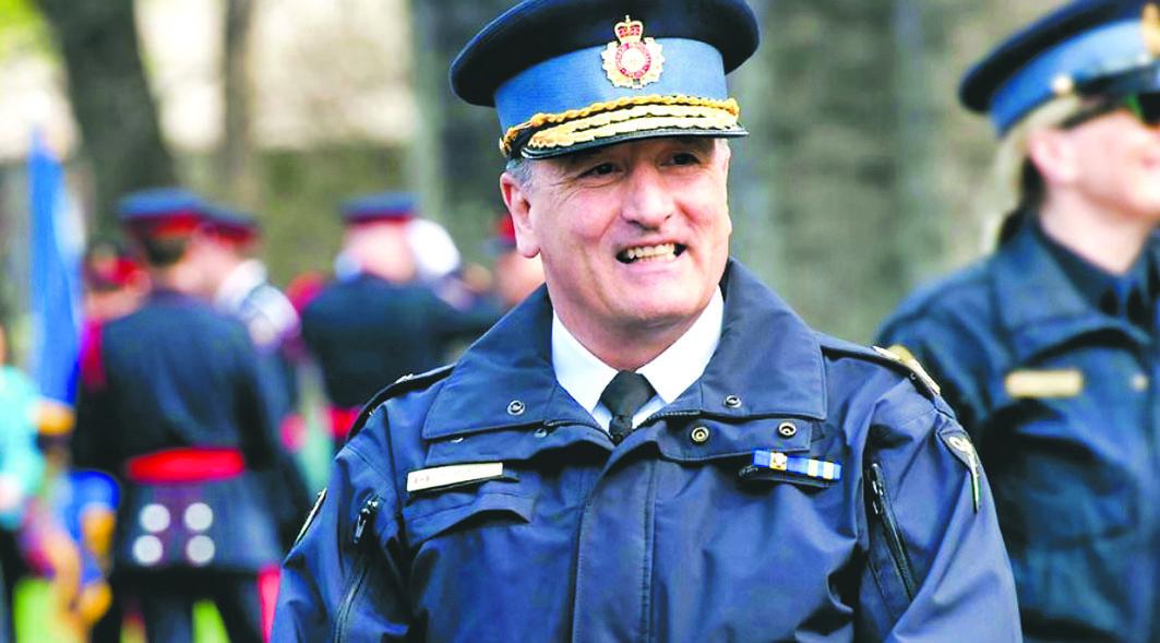 ■前安省省警副总长贝理尔,控告省府不当解雇。安省省警图片