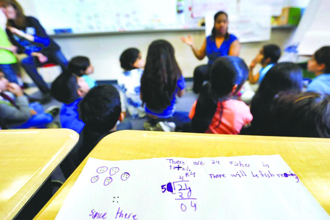贺维学会的研究认为,每班学生人数对成绩无显著影响。 星报资料图片