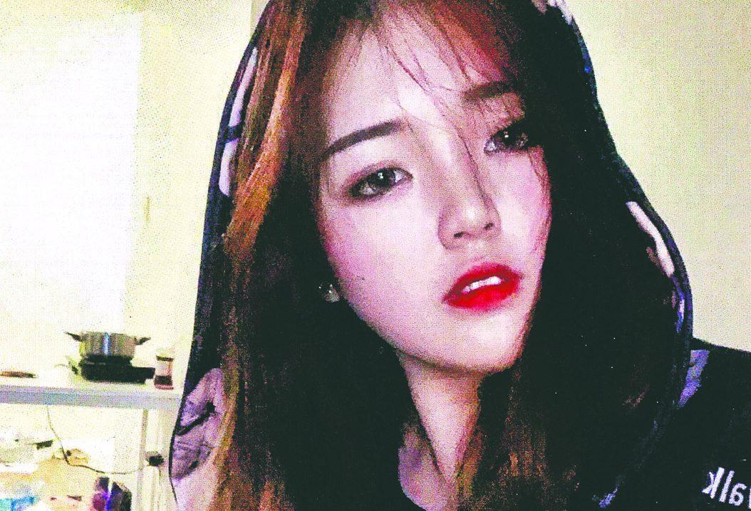 ■失踪的中国留学生黄玲洁。咸美顿警队
