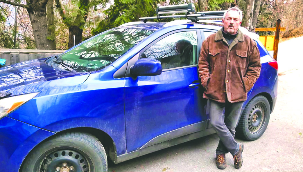 林加德和他的现代汽车。 CBC