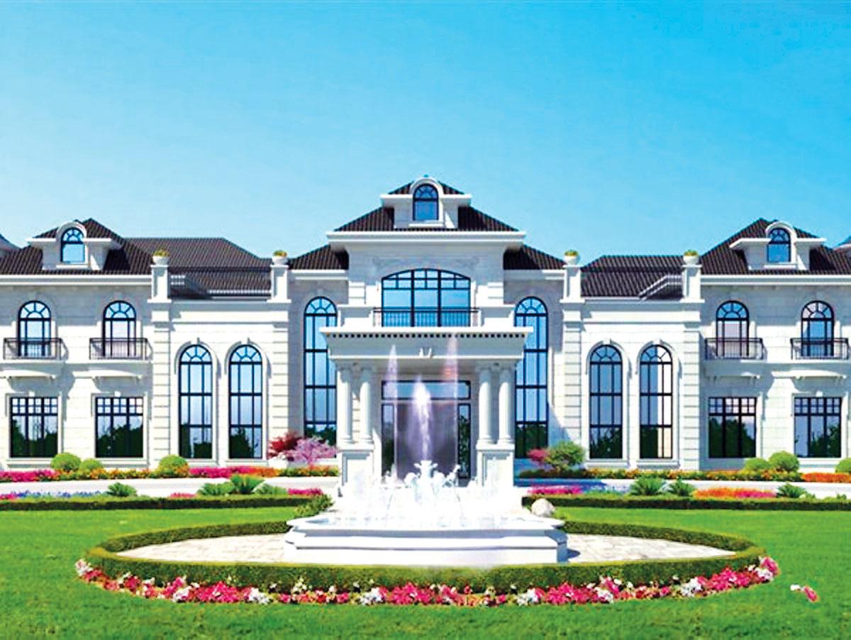 ■此乃位於Sidaway路9660號、即將興建的另一間住宅設計外貌。MLS